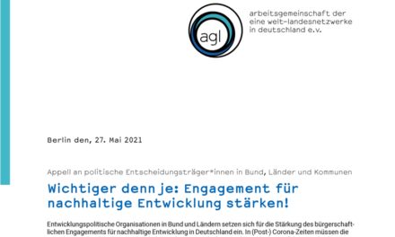 Appell an politische Entscheidungsträger*innen in Bund, Länder und Kommunen