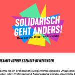 """VENROB e.V. unterstützt die Kampagne """"Solidarisch geht anders!"""""""