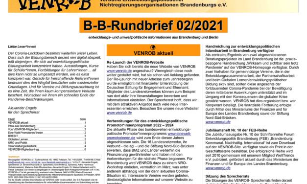 B‑B-Rundbrief 2/2021