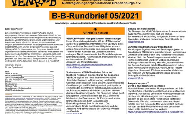 B‑B-Rundbrief Mai2021