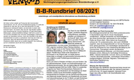 B‑B-Rundbrief August 2021