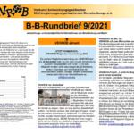 B-B-Rundbrief September 2021 | Entwicklungs- und umweltpolitische