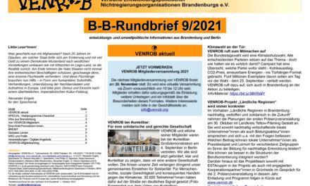 B‑B-Rundbrief September 2021