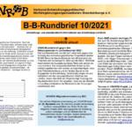B-B-Rundbrief Oktober 2021 | Entwicklungs- und umweltpolitische