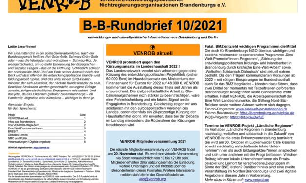 B‑B-Rundbrief Oktober 2021