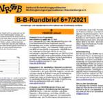 B-B-Rundbrief Juni - Juli 2021