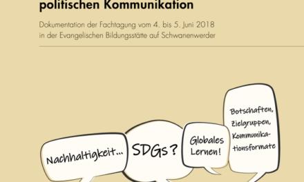 Dokumentation | Neustart in der entwicklungspolitischen Kommunikation