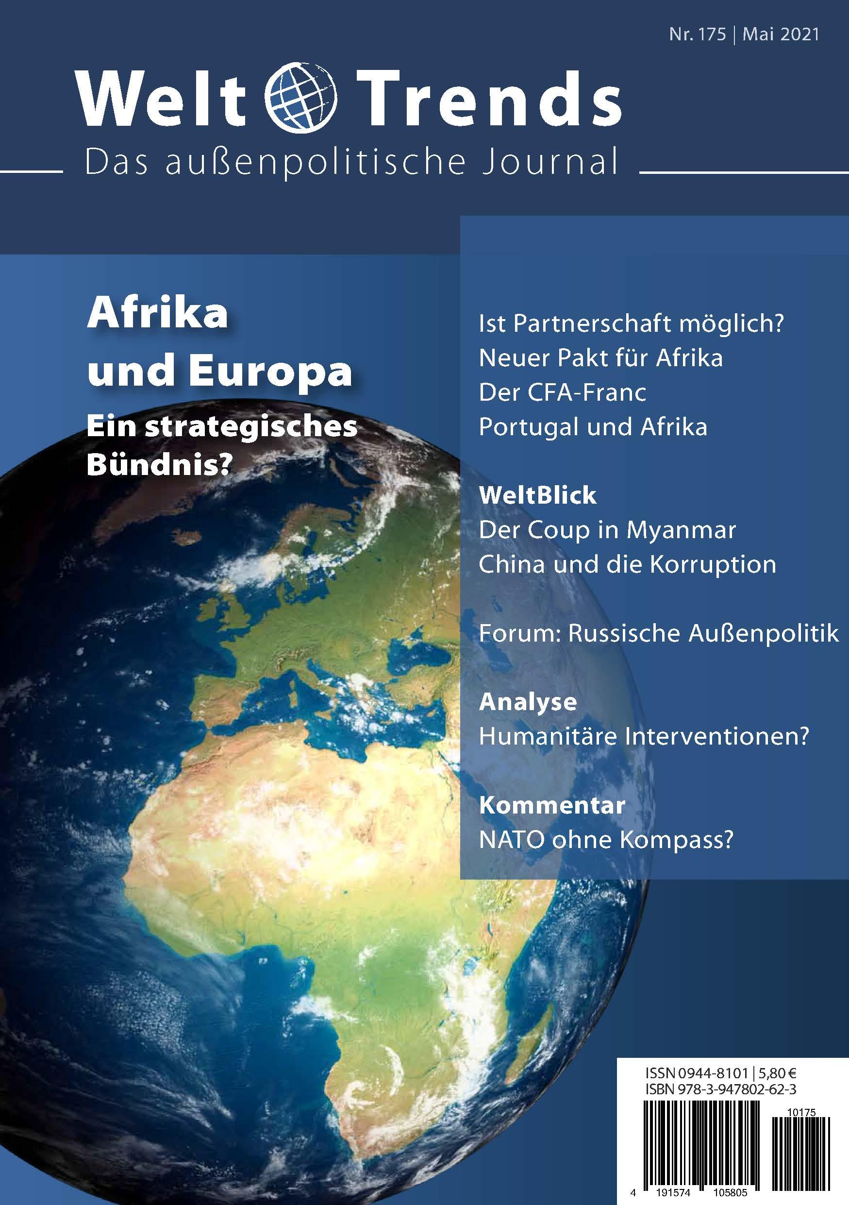 WeltTrends Nr. 175: Afrika und Europa. Ein strategisches Bündnis?