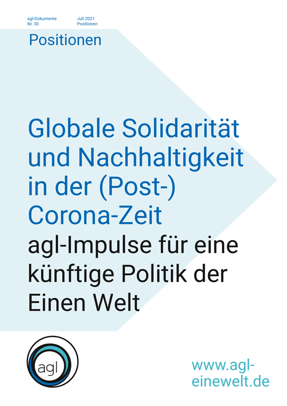 Globale Solidarität und Nachhaltigkeit in der (Post-) Corona-Zeit