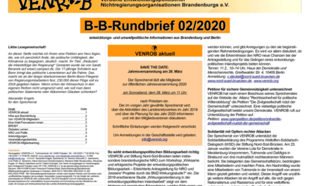 B‑B-Rundbrief 2/​2020