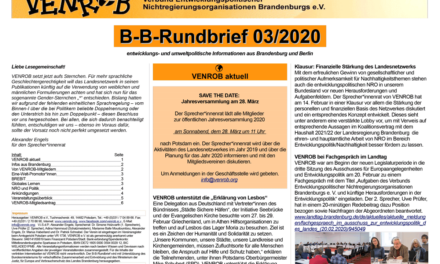 B‑B-Rundbrief 3/​2020