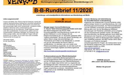 B‑B-Rundbrief 11/2020