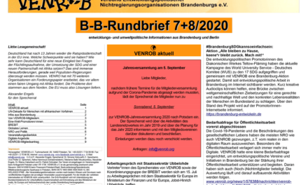 B‑B-Rundbrief 7+8/2020