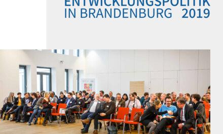 Dokumentation | ENTWICKLUNGSPOLITIK IN BRANDENBURG 2019