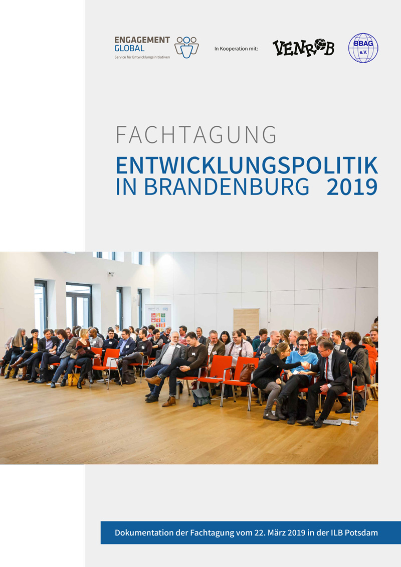Dokumentation   ENTWICKLUNGSPOLITIK IN BRANDENBURG 2019
