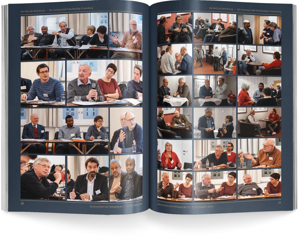 Konferenzbericht der Fachtagung DIE WELT ALS BEDROHUNG – Der Ausweg heißt Nachhaltige Entwicklung