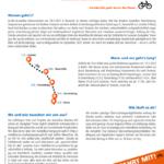 #unteilbar MV-Radtour von Berlin durch Brandenburg nach Rostock